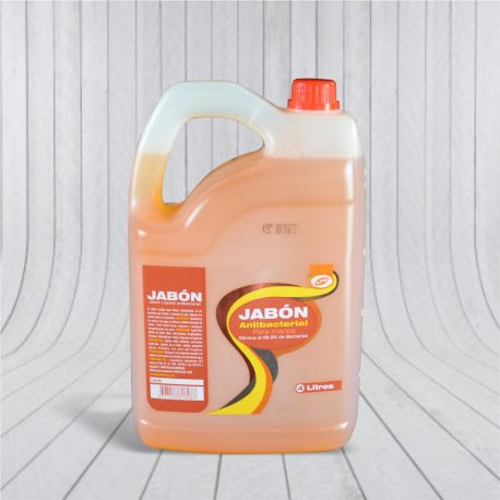 Jabón Manos Antibacterial 4 L