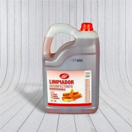 Limpiador Desinfectante Canela 4L