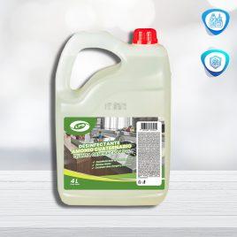 Desinfectante Amonio Cuaternario 5ta Generación al 10%  x 4L